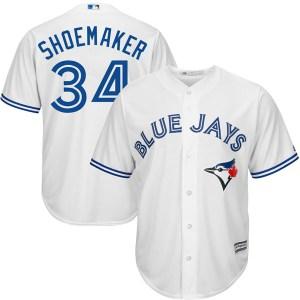 Matt Shoemaker Toronto Blue Jays Replica Cool Base Home Majestic Jersey - White
